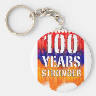 Porte-clés L'Arménie 100 ans d'anniversaire plus fort