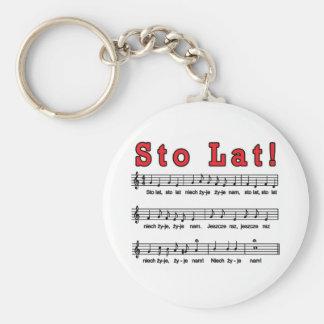 Porte-clés Lat de Sto ! Porte - clé de chanson