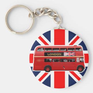 Porte-clés L'autobus rouge de Londres d'autobus à impériale