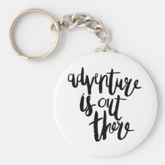 Porte-clés L'aventure est là