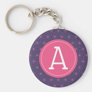 Porte-clés Lazer rose pourpre