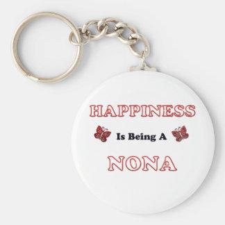 Porte-clés Le bonheur est des Forces navales de la Norvège