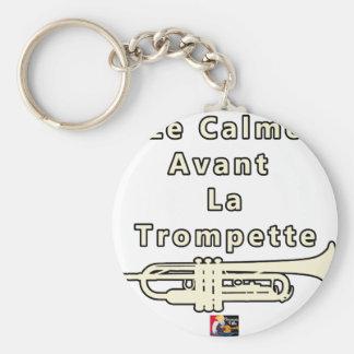 Porte-clés Le Calme avant la Trompette - Jeux de Mots