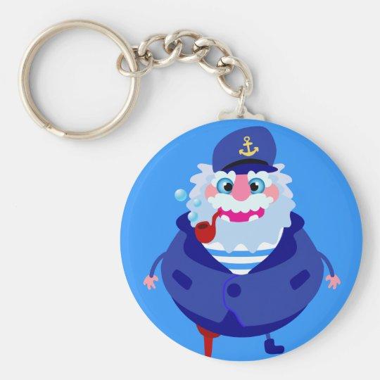 Porte-clés Le capitaine