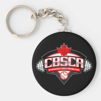 """Porte-clés Le CBSCA 2,25"""" porte - clé de base de bouton"""