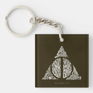 Porte-clés Le charme | de Harry Potter DE MORT SANCTIFIE la
