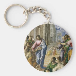 Porte-clés Le Christ guérissant les aveugles