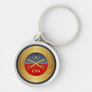 Porte-clés Le confédéré énonce la cavalerie (les rd)
