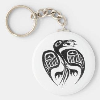 Porte-clés le corbeau vole le soleil