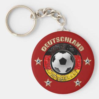 Porte-clés Le Deutschland Fussball Flagge Vier Sterne