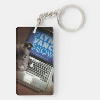 Porte-clés Le double d'exposition de Lynn Vance a dégrossi