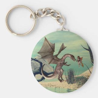 Porte-clés Le dragon