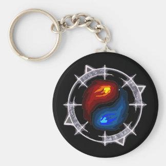 Porte-clés Le feu, glace et porte - clé mystérieux