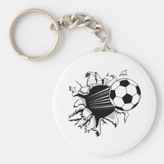 Porte-clés Le football Tearout