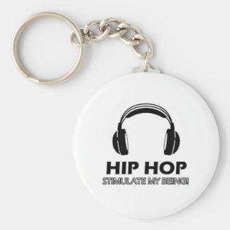 Porte-clés le hip hop me stimulent