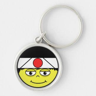Porte-clés Le Japon font face