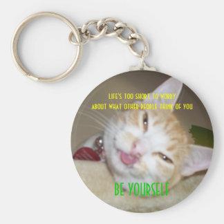 Porte-clés le junipurr soit vous-même porte - clé