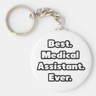 Porte-clés Le meilleur. Aide médical. Jamais