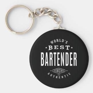 Porte-clés Le meilleur barman du monde