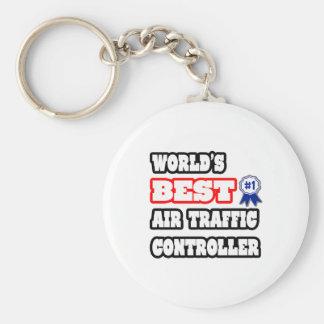 Porte-clés Le meilleur contrôleur de la navigation aérienne