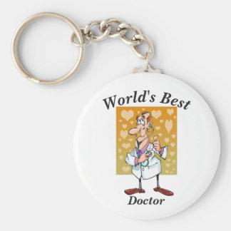 Porte-clés Le meilleur docteur du monde