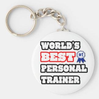 Porte-clés Le meilleur entraîneur personnel du monde