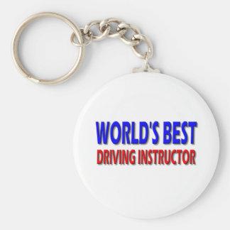 Porte-clés Le meilleur instructeur d'entraînement du monde