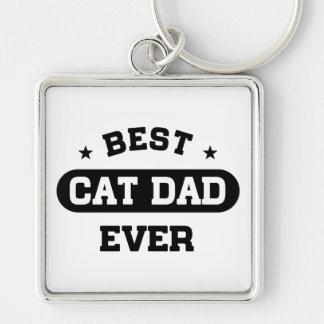 Porte-clés Le meilleur papa de chat jamais