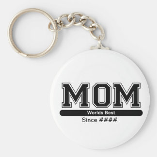 Porte-clés Le meilleur porte - clé de jour de mères de maman