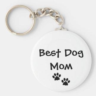Porte-clés Le meilleur porte - clé de maman de chien