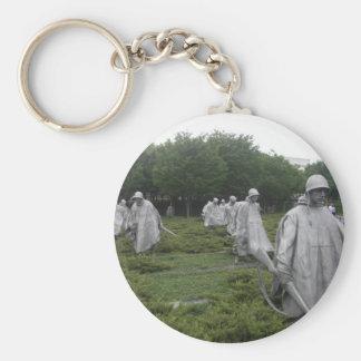 Porte-clés Le mémorial du combattant de Guerre de Corée