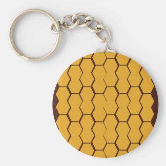 Porte-clés Le miel de conception bloque l'or