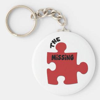Porte-clés Le morceau absent