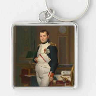 Porte-clés Le napoléon d'empereur dans son étude chez le