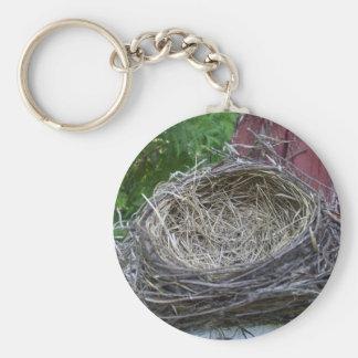 Porte-clés Le nid de l'oiseau vide