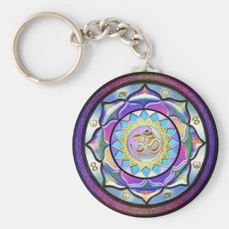 Porte-clés Le pastel peut étonner le porte - clé de mandala