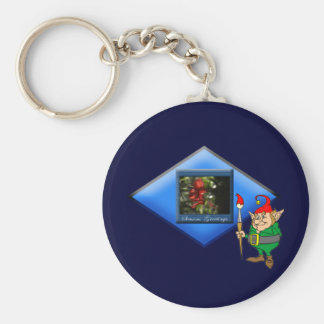 Porte-clés Le peintre de la nature d'Elf : -)