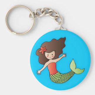 Porte-clés Le petit porte - clé de sirène