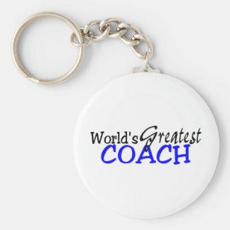 Porte-clés Le plus grand entraîneur des mondes