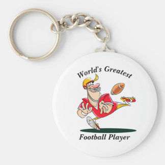 Porte-clés Le plus grand joueur de football du monde