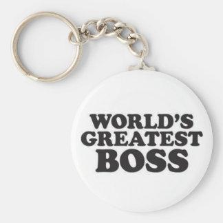 Porte-clés Le plus grand patron du monde