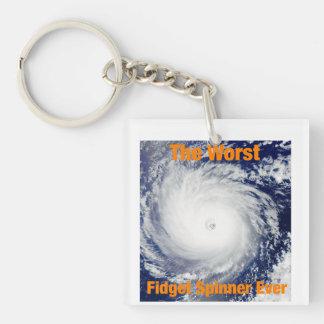 Porte-clés Le plus mauvais porte - clé de fileur de personne