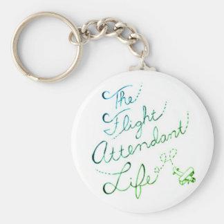 Porte-clés Le porte - clé 2 de bulle de la vie de steward
