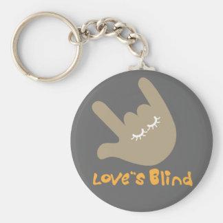 Porte-clés Le porte - clé aveugle de l'amour