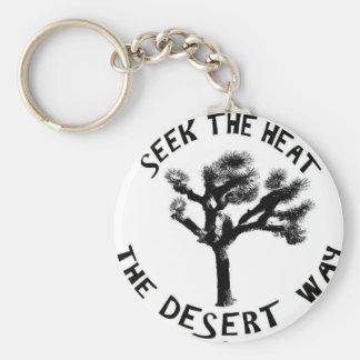 Porte-clés Le porte - clé de manière de désert