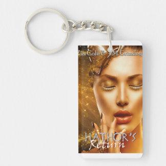 Porte-clés Le porte - clé de retour de Hathor