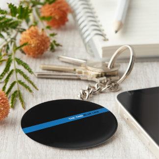 Porte-clés Le porte - clé mince de Blue Line