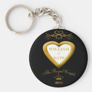 Porte-clés Le porte - clé royal de fiançailles/mariage