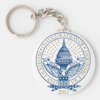 Porte-clés Le Président Inaugural Logo Inauguration de penny