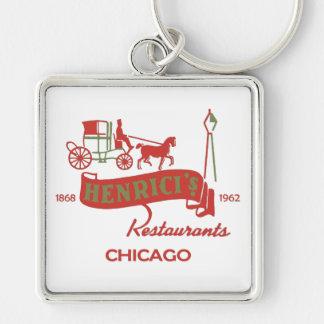 Porte-clés Le restaurant de Henrici, Chicago, IL 1868-1962